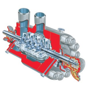 HDB and HSB Multistage, Volute Casing, Utility Barrel